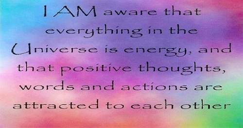 Law of attraction affirmations pdf online